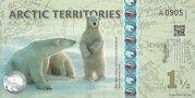 1 1/2 Polar Dollars – obverse