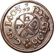 1 Penny (The Hobbit, Shire) – reverse