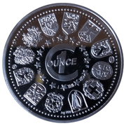 1 oz Silver (Bom dia Europa!) – reverse