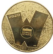 Monnaie de Paris Tourist Token (Loup Garou) -  obverse