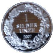 1 oz Silver (Silber Unze) – reverse