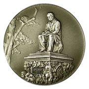 Medal - Lenigrad (Monument to Ivan Krylov) -  obverse