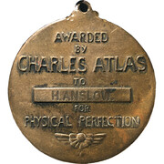 Medal - Charles Atlas – reverse