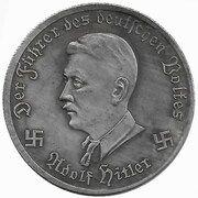 10 Reichsmark (Messerschmitt) – reverse