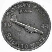 10 Reichsmark (Arado) – obverse