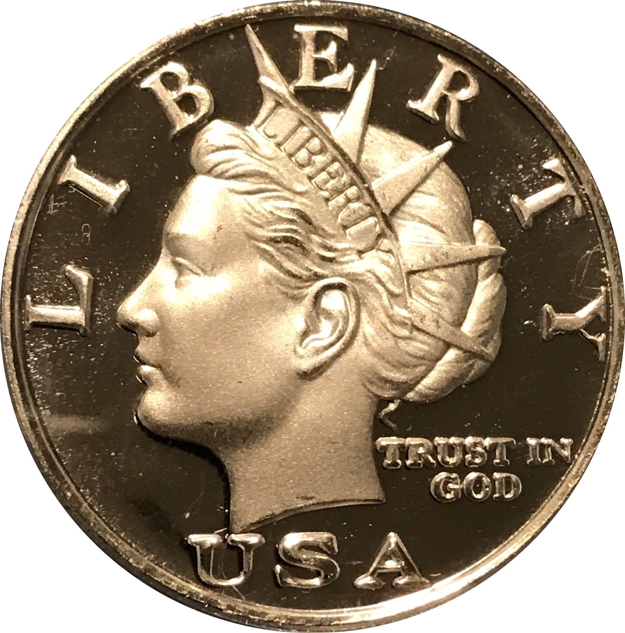 2003 Silver Norfed Liberty $10 Coin