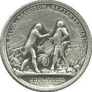 Medal - Haratio Gates Duci Strenuo – reverse