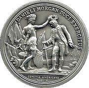 Medal - Danieli Morgan Duci Exercitus – obverse
