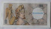 """100 Francs """"Échantillon"""" DELACROIX type Athéna à gauche pour DAB – obverse"""