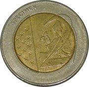 2 (Germany Euro Fantasy Token; Sachsen) – reverse
