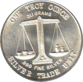 1 Oz Silver Silver Trade Unit Morgan Dollar