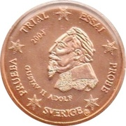 1 Cent (Sweden Euro Fantasy Token) – obverse