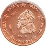 2 Cent (Sweden Euro Fantasy Tokens) – obverse