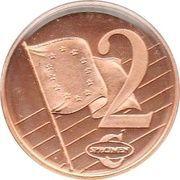 2 Cent (Sweden Euro Fantasy Tokens) – reverse