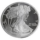 1 oz Silver (Walking Liberty) – obverse