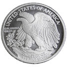 1 oz Silver (Walking Liberty) – reverse