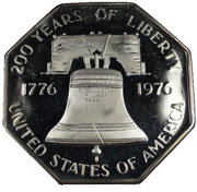 1 oz silver (200 Years of Liberty) – obverse