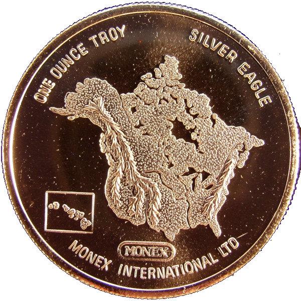 1 Oz Silver Monex International