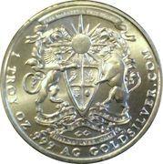 1 oz silver (Goldsilver.com - Pegasus) – reverse