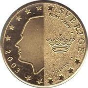 10 Cent (Sweden Euro Fantasy Token) – obverse