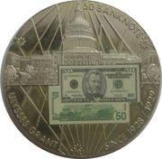 2 oz silver ($50 Banknote) – obverse