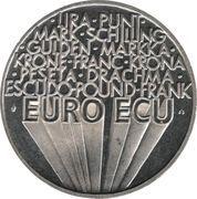 1 Euro / ECU (Europa) – reverse