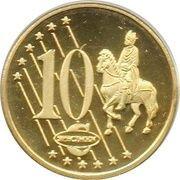 10 Cent (Sweden Euro Fantasy Token) – reverse