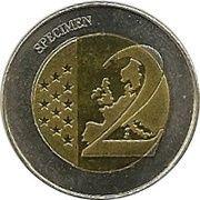 2 (Hungary Euro Fantasy Token) – reverse