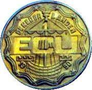 1 ECU - Beatrix (Zutphen) -  obverse
