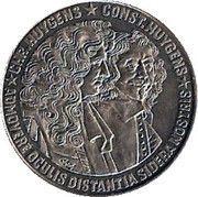 2½ ECU - Beatrix (Chr. Huygens & Const. Huygens) -  reverse