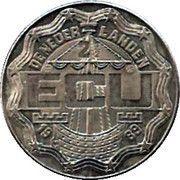 2½ ECU - Beatrix (Chr. Huygens & Const. Huygens) -  obverse