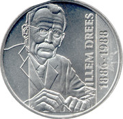 2½ ECU - Beatrix (Willem Drees) -  reverse