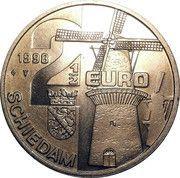 2½ Euro - Schiedam (de Noort) -  obverse