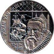 5 Euro - Beatrix (Johan Van Oldenbarnevelt) -  reverse