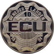 10 ECU - Beatrix (Desiderius Erasmus) -  obverse