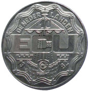 10 ECU - Beatrix (Willem I Frederik) -  obverse