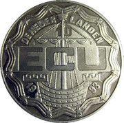 10 ECU - Beatrix (Maastricht Treaty) -  obverse