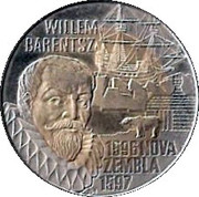 10 Euro - Beatrix (Willem Barentsz) -  reverse