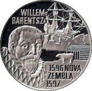 20 Euro - Beatrix (Willem Barentsz) -  reverse