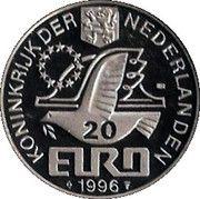 20 Euro - Beatrix (Willem Barentsz) -  obverse