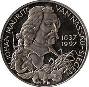 2½ ECU - Beatrix (Johan Maurits van Nassau-Siegen) -  reverse