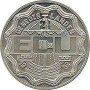 2½ ECU - Beatrix (Maastricht Treaty) -  obverse