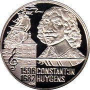 20 Euro - Beatrix (Const. Huygens) -  reverse