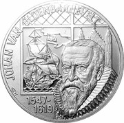 20 Euro - Beatrix (Johan van Oldenbarnevelt) -  reverse