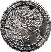 25 ECU - BEATRIX (Chr. Huygens -1629/1695- & Const. Huygens -1596/1687-) -  reverse