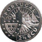 2½ ECU (Infante Henrique) – obverse