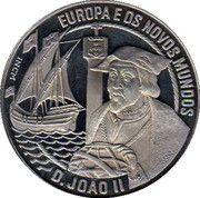 2½ ECU (João II) – reverse