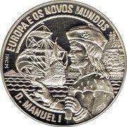 2½ ECU (D. Manuel I) – reverse