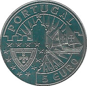 5 Euro (Filipa de Lencastre) – obverse