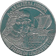 5 Euro (Filipa de Lencastre) – reverse
